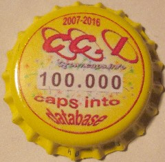 Crown cap #100000