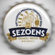 Sezoens de la brasserie Martens à Bocholt  Belgique Crown